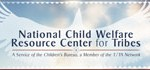 National Child Welfare Resource Center for Tribes (logo)