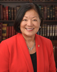 Mazie K Hirono, official portrait